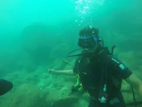Scuba diving experience in Sri Lanka