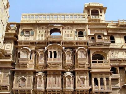 Patwon ki Haveli in Jaisalmer Rajasthan
