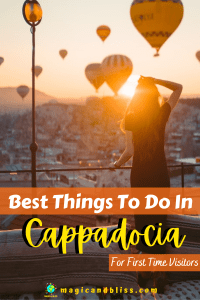 top places to visit in Cappadocia | things to see in Cappadocia | Cappadocia Turkey | best things to do in Cappadocia | must see in Cappadocia | hiking in Cappadocia Turkey | hot air balloon ride Cappadocia | Goreme Cappadocia | #Cappadocia #Turkey #thingstodoinCappadocia
