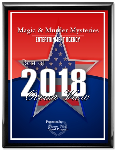 Ocean View 2018 Best Entertainment Agency Award