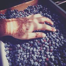 """""""Body Art & Blueberries"""""""