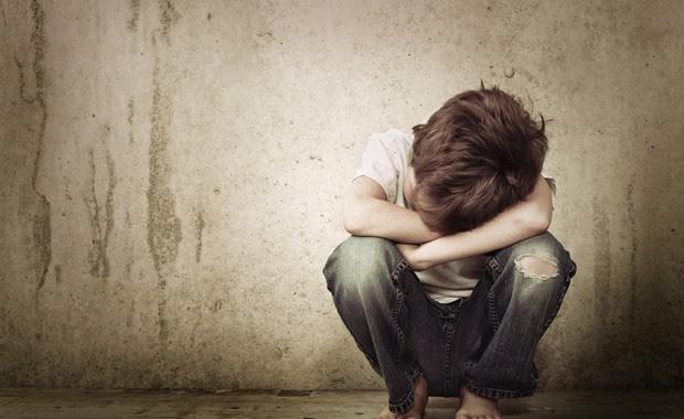 Crianças tristes