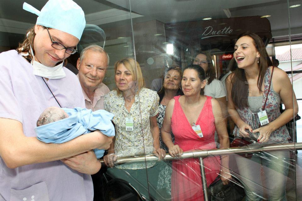 Visita recém nascido