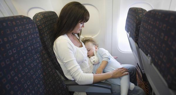 viajando com um recém nascido