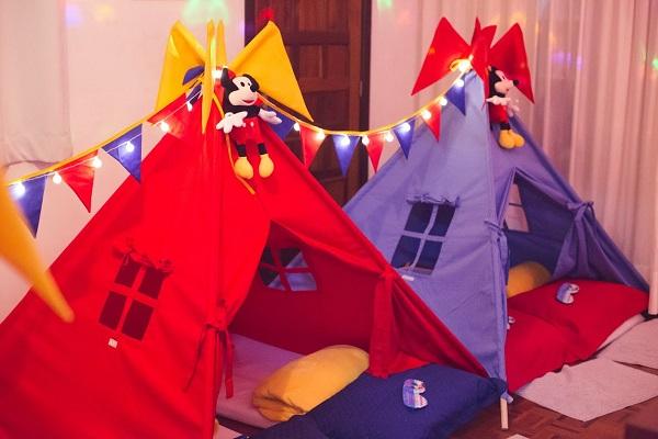 Festa do Pijama do Mickey mouse