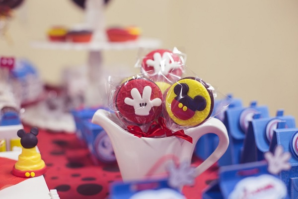 Doces personalizados Mickey Mouse