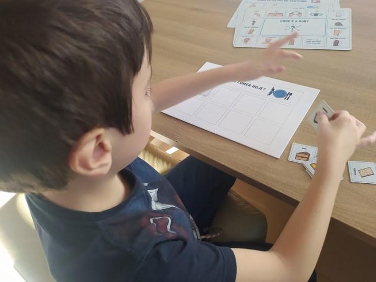 kit de comunicação alternativa para crianças autistas
