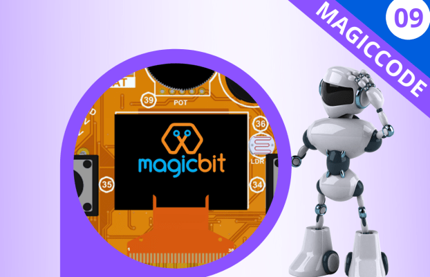 MagicCode Lesson 09: Onboard OLED Screen