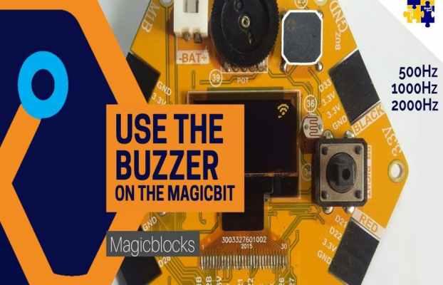 Magicblocks Lesson 08: Use the Buzzer