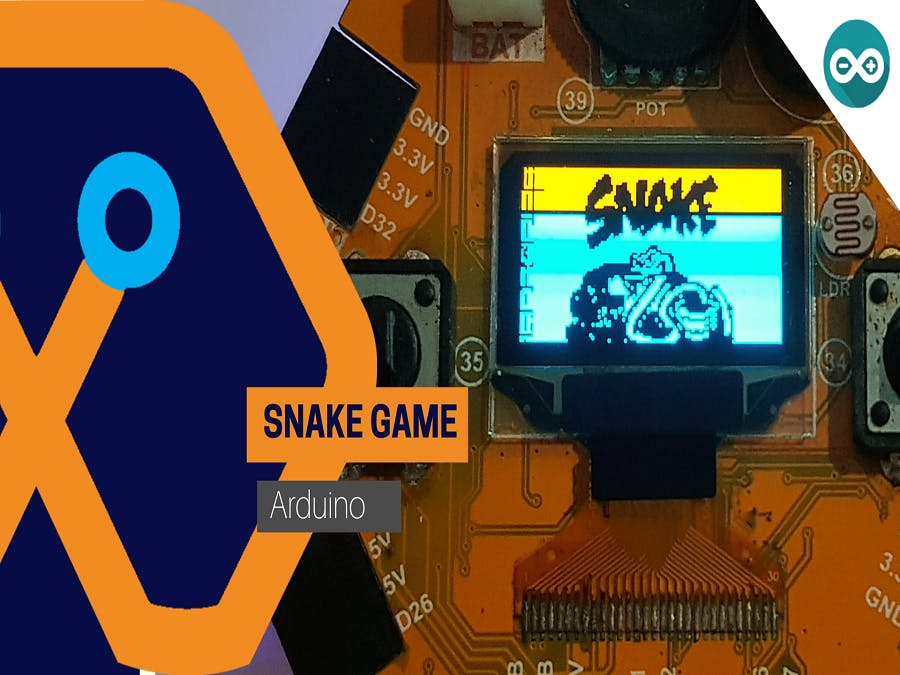 Snake game from Magicbit