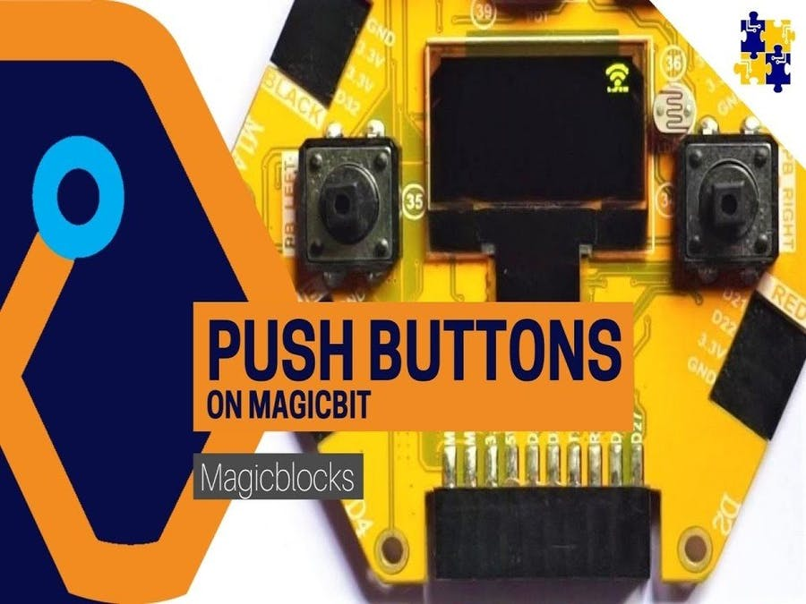 Magicblocks Lesson 06: Get Button Input