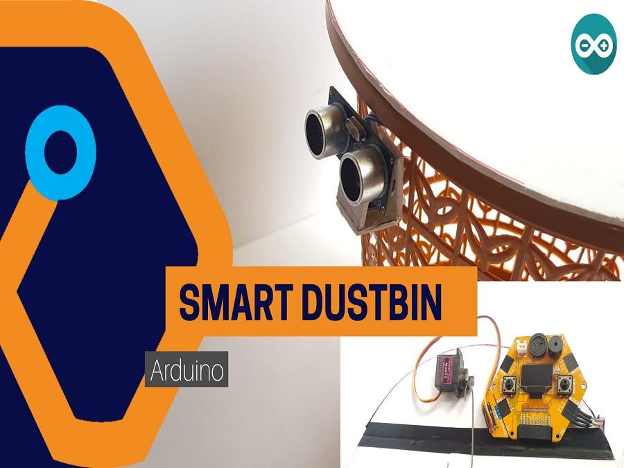 Smart Dustbin from Magicbit