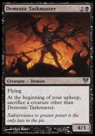 Demonic Taskmaster