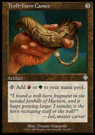 Troll-Horn Cameo