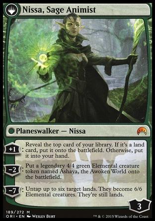 Nissa, Sage Animist
