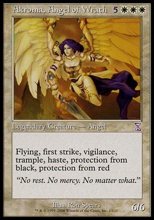 Akroma, ángel de ira