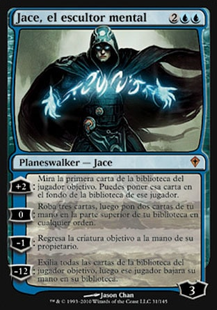 carta Jace, el escultor mental