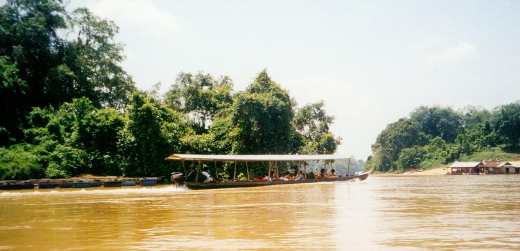 Taman Negara Jungle Boat Ride River, Malaysia