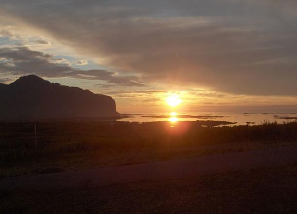 Sunset, Norway, Cruise