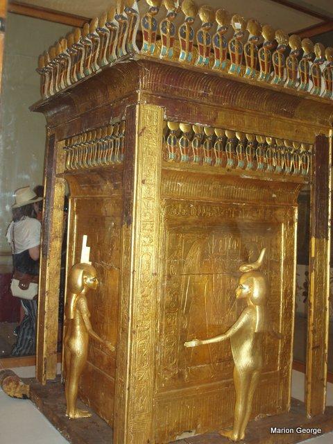 King tut Gilded shrine