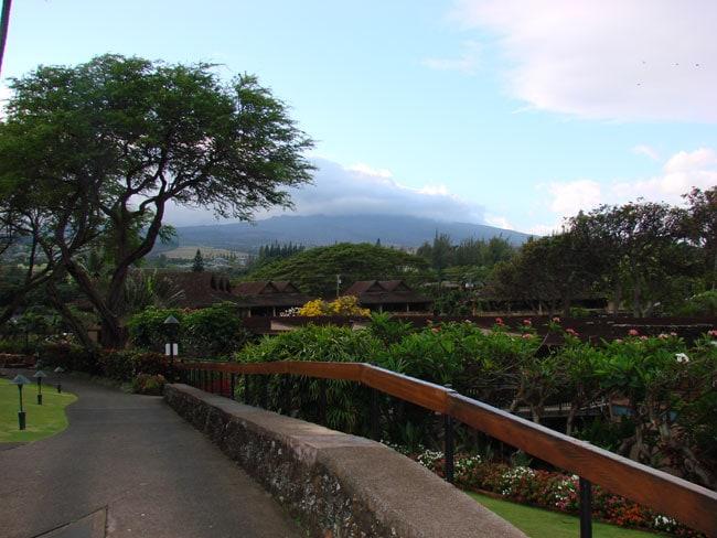 View at Napili Kai Beach Resort, Maui, Hawaii
