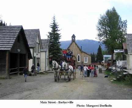 Barkerville Main Street, British Columbia