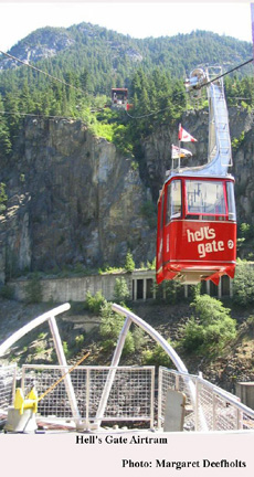 Hells Gate Airtram, British Columbia's Fraser Canyon