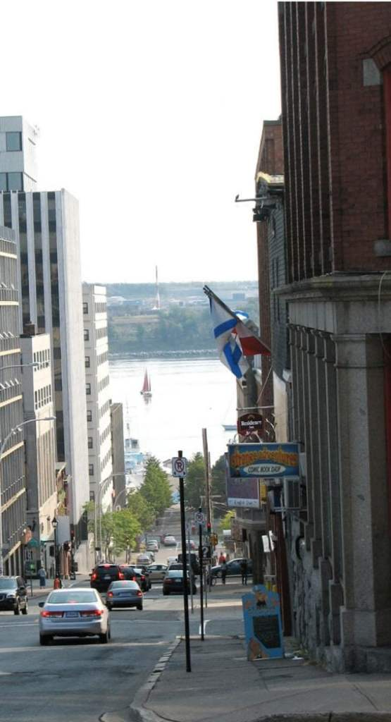 Street view of Halifax Harbour