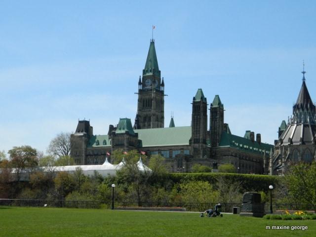 Marjor Hill Park Parliament Buildings Ottawa