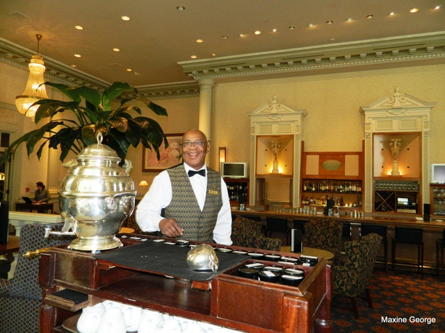 Ottawa's Fairmont Chateau Laurier Tea time