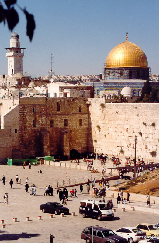 Dome of the Rock in Old City in Jerusalem