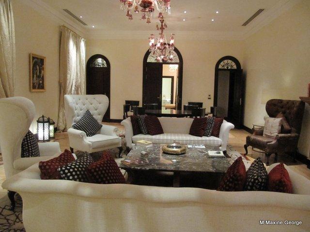 Churchill suite, Old Cataract Hotel, Aswan