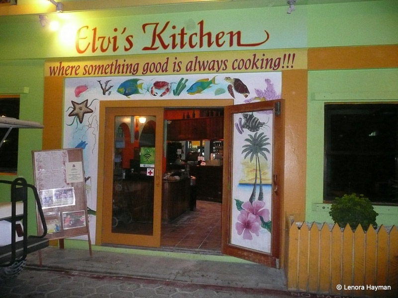 Elvi's Kitchen, San Pedro, Belize