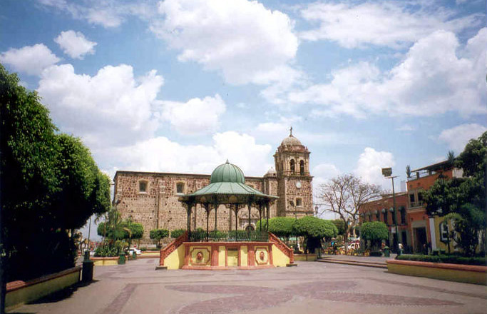 Tequila Town Square or Plaza and Cupola or Music Stand