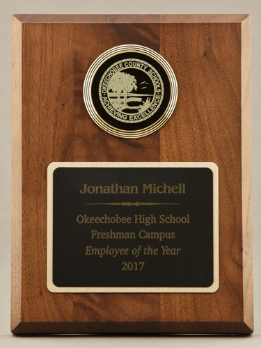 Teacher Recognition Plaques 22D