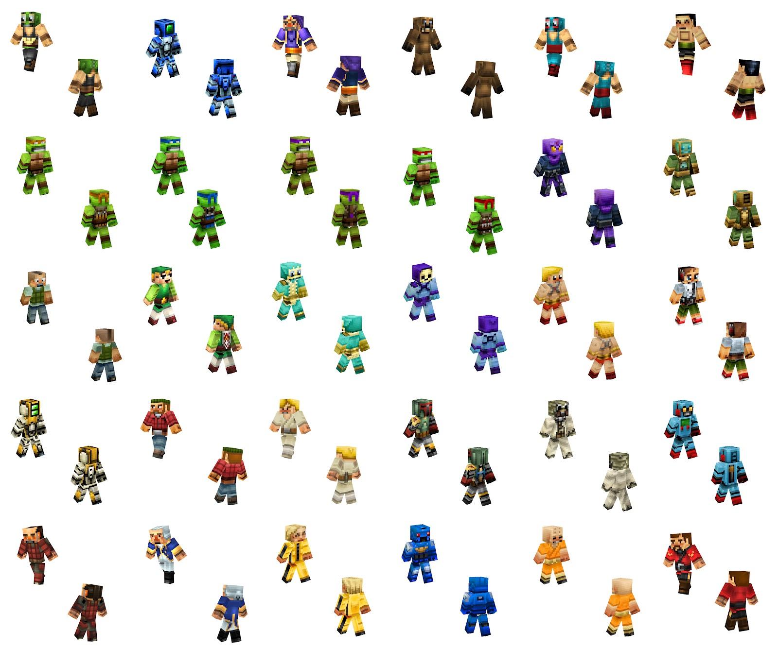 Minecraft skins