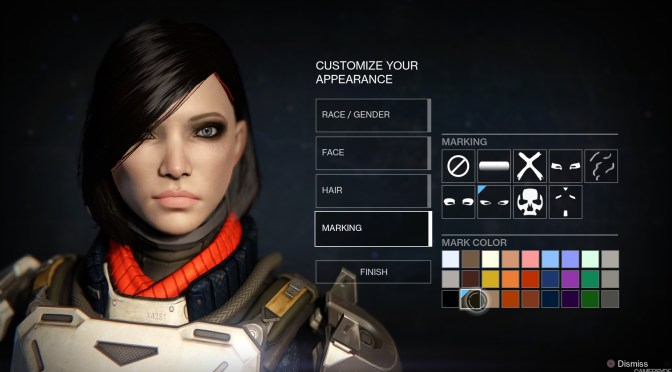 Destiny character customization