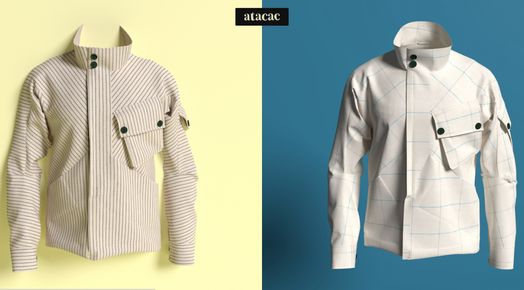 3d images of two shirts