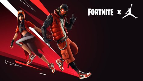Fornite Nike fashion