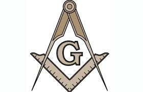 set square and compass Freemason symbol