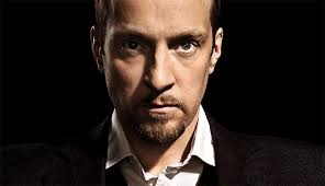 derren brown looking intense