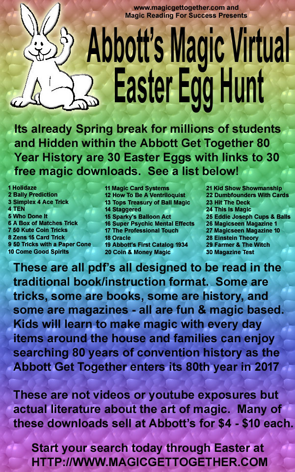 Abbott's Magic Virtual Easter Egg Hunt