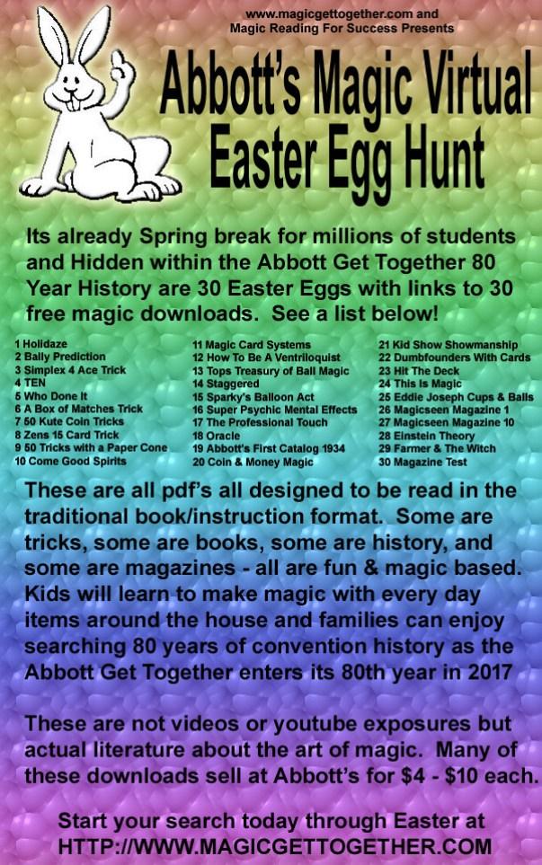 Abbott's Magic Virtual Easter Egg Hunt