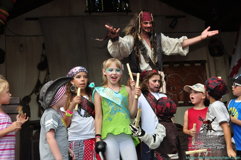 Captain Jack Sparrow's Pirate Tutorial in Magic Kingdom