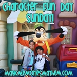 Character Fun Day Sunday hosted by Magic, Memories, Mayhem