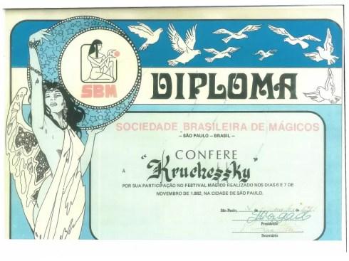 magico-marcelo-kruschessky-diploma-SBM-sociedade-brasileira-de-magicos-1982