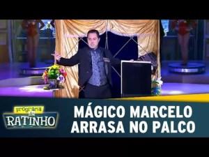 Mágico Marcelo Kruschessky no Programa do Ratinho