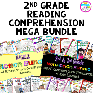 Various 2nd Grade Reading Lessons