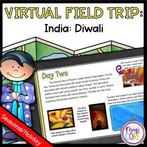 Virtual Field Trip to India for Diwali