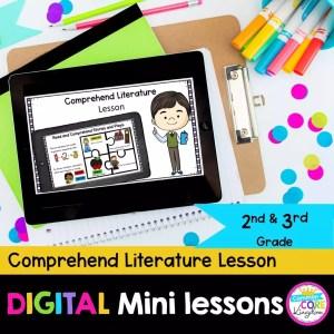 RL.2.10 3.10 Comprehend Literature Digital Lessons